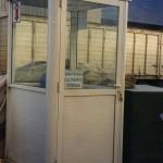 Cerramiento de Aluminio para cabina