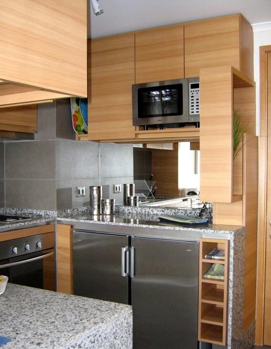 Muebles para cocina de aluminio fabrica de aberturas de for Cocinas en espacios chicos