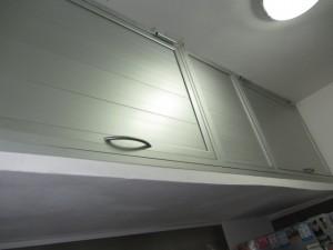 alacena y bajomesada de aluminio