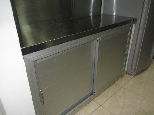 Muebles para cocina de aluminio fabrica de aberturas de - Muebles en aluminio ...