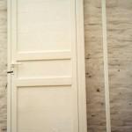 Puerta Ciega con dos cruces reforzados- Linea Modena
