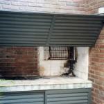 Tapa Asador de Aluminio elevadiza